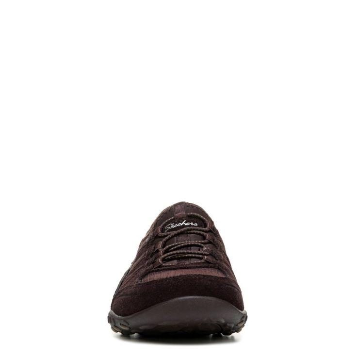 Skechers Women's Breathe Easy Moneybags Sneakers (Chocolate) - 6.0 M