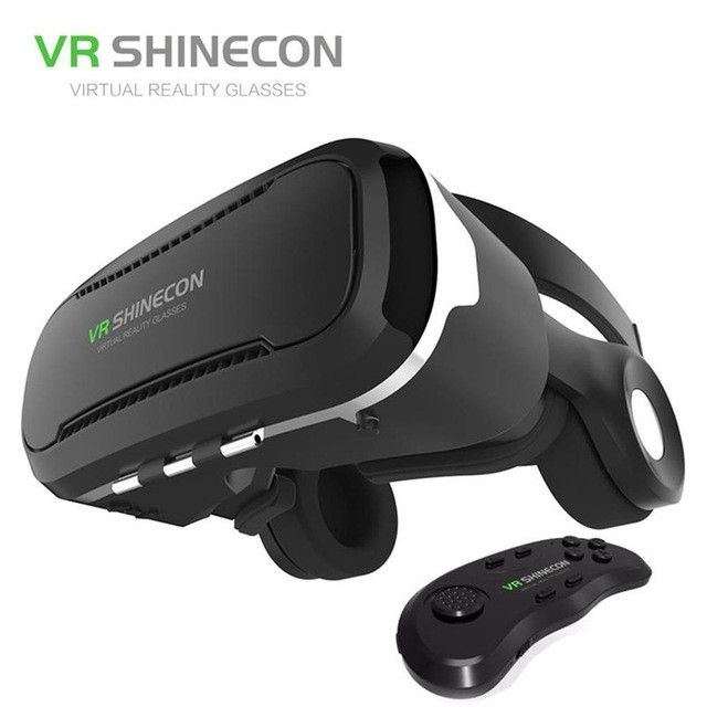 2016 VR Shinecon 4.0 for 4.7-6.0 inch Smartphone 360 Degree Immersive Virtual Reality 3D Glasses VR Box