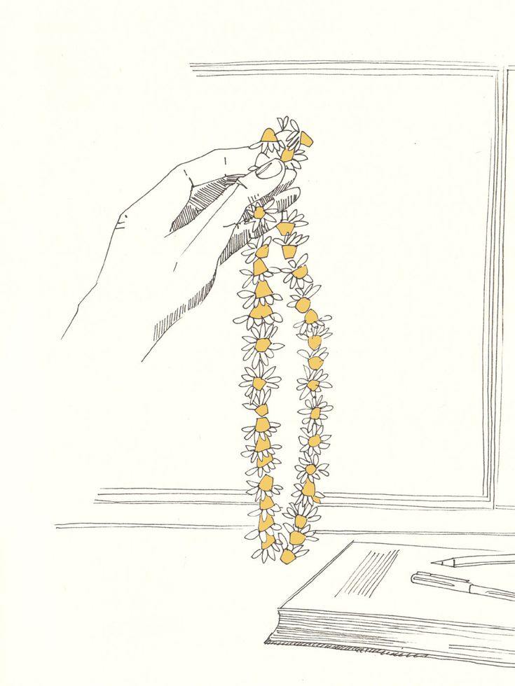 Issue #2 - D-due LAB: Yellow Mountain | #inspiration #illustration #daisies #camomile #summer