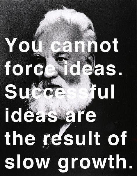 Alexander Graham Bell on creativity, innovation, and success | Brain Pickings