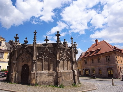 World Heritage Sites, Gothic Stone Fountain, Kutna Hora - Czech
