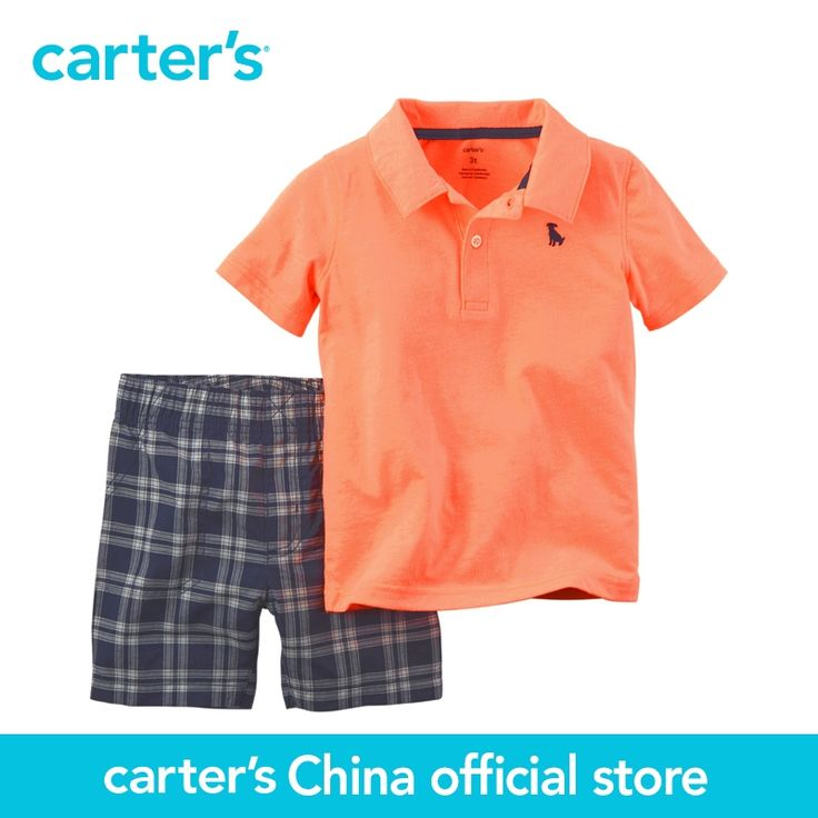 7$  Watch here - Carter's 2 pcs baby children Polo Short set 229G123, sold by Carter's China official store   #buyonlinewebsite