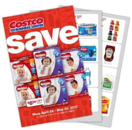 Costco Business Center Coupon Book: April 24, 2017 – May 20, 2017. Prices Listed. #Costco #FrugalHotspot