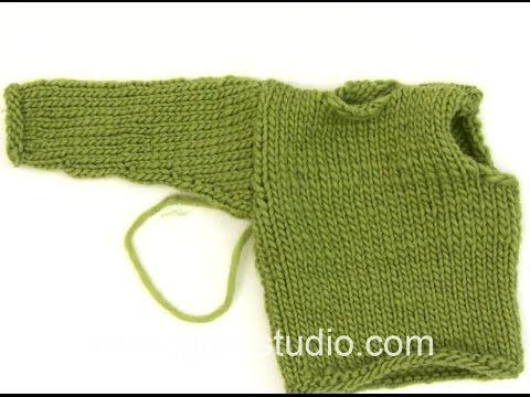 Hvordan sy i ermer på strikkejakker og -gensere? (Strikkepiken)