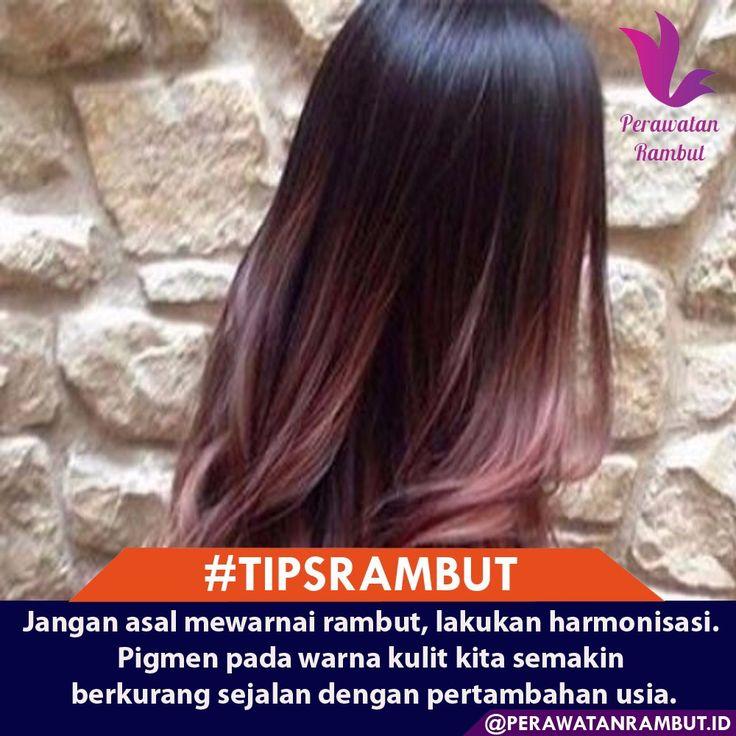 Nah, jika Anda gemar bergonta-ganti warna rambut, imbangi dengan melakukan lightening rambut secara berkala, seminggu sekali. Gunakan produk pelembab rambut berkualitas yang bisa menyehatkan kembali rambut Anda. #tipsrambut  #masalahrambut  #tipsrambutsehat  #kecantikanwanita  #tipsrambutrontok