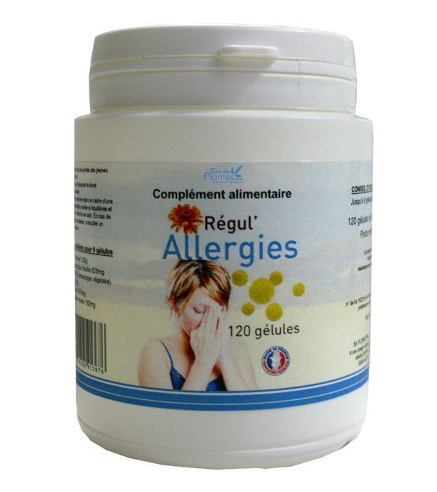 Le+curcuma+aide+à+conserver+une+résistance+aux+allergies.+complément+alimentaire+régul'Alergies+120+gélules+de+485mg