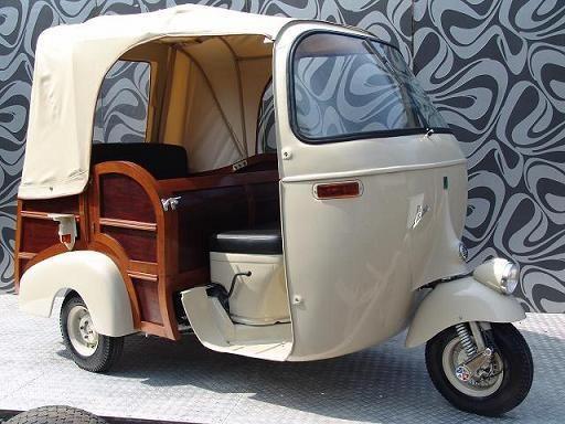 Vespa Ape Piaggio Scooter Calessino 10