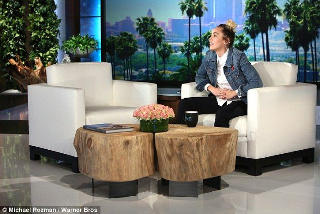 Coming soon: Miley's episode of The Ellen DeGeneres Show airs Thursday. Check your local listings