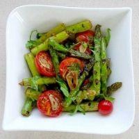 Braai idea: Grilled asparagus and cherry tomato salad