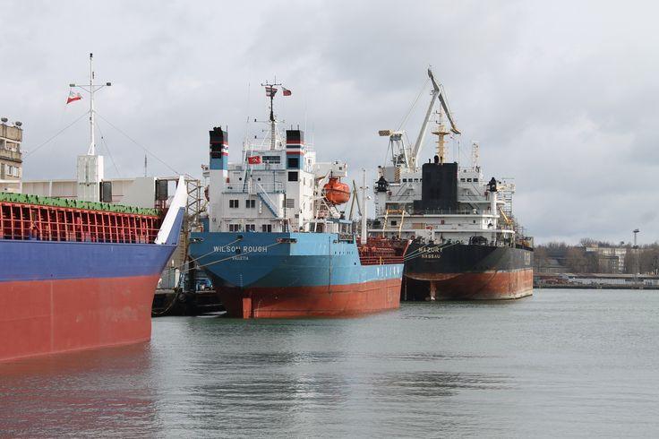 Three vessels are waiting for repair Photo: J. Staluszka