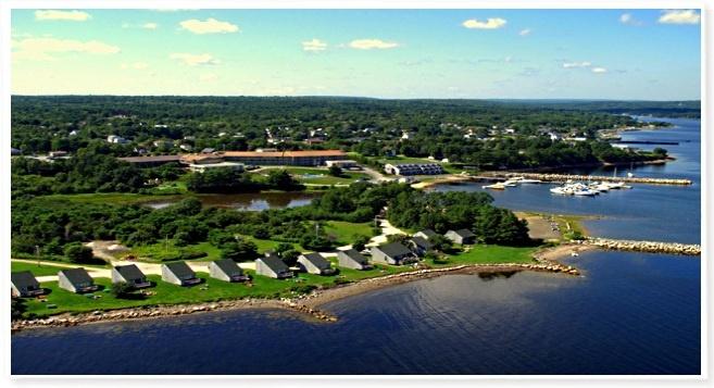 reception site!!! Atlantica Oak island resort in nova scotia