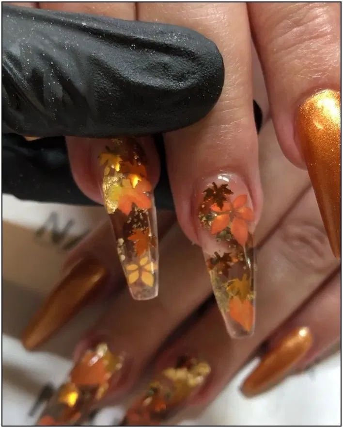 109 scary halloween nails art ideas page 35 (With images ...