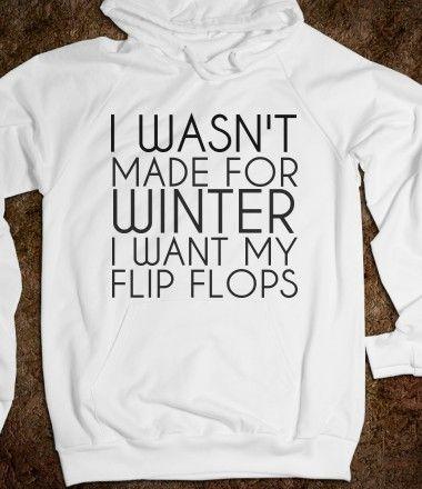 $30.50 I Want My Flip Flops Hoodie from tshirtunicorn