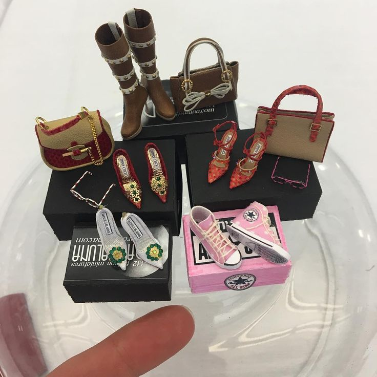 Miniature Bags & Shoes ♡ ♡ By IGMA Guild School