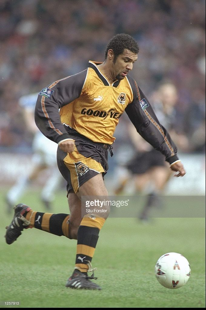 Don Goodman of Wolves in action during the Nationwide division one match between Huddersfield Town and Wolverhampton Wanderers at at the McAlpine Stadium in Huddersfield. Mandatory Credit: Stu Forster /Allsport