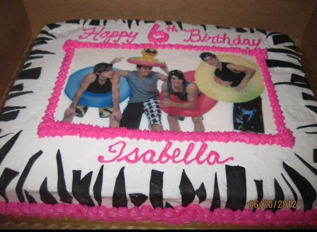 forget 6th birthday...i'll be getting this cake for maria's next birthday! :)