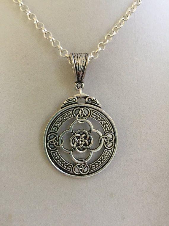 Zilveren Keltische Design ketting