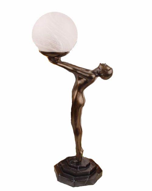 Klasyczna lampa wykonana w stylu Art Deco / Classical lamp art deco