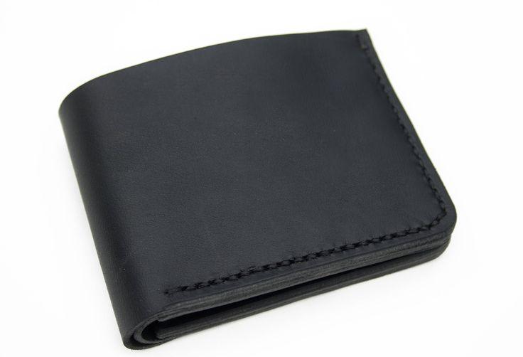 Men's Minimalist Handmade Bifold Wallet