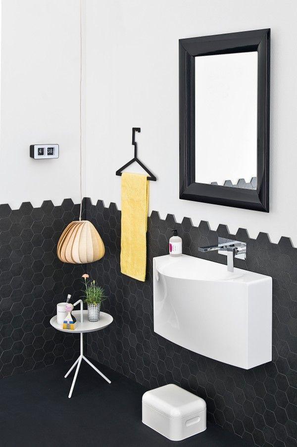 13 best Idées Décoration Salle de bain images on Pinterest Modern - blanchir joint salle de bain