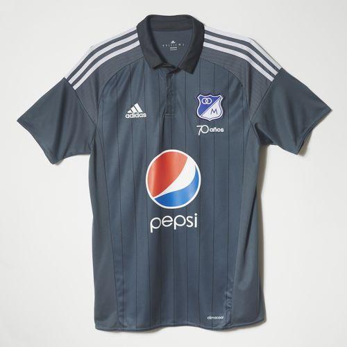 Camiseta Millonarios Away 2016 - Grey