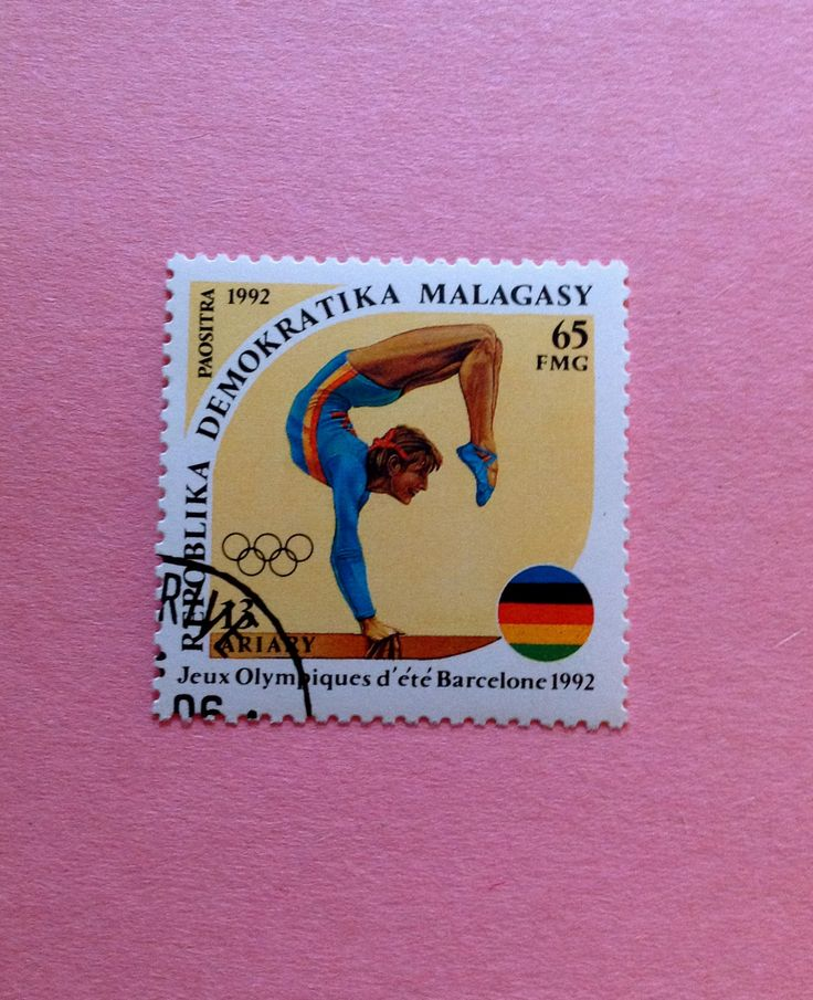 Commemorative of the Olympic Games, Barcelona 1992. Printed in Madagascar in 1992.