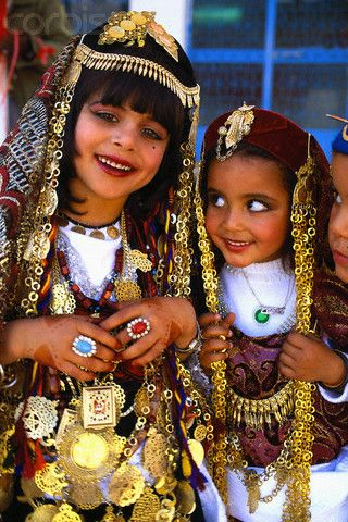 Tunisian Girls in Traditional Dress. http://howiviewafrica
