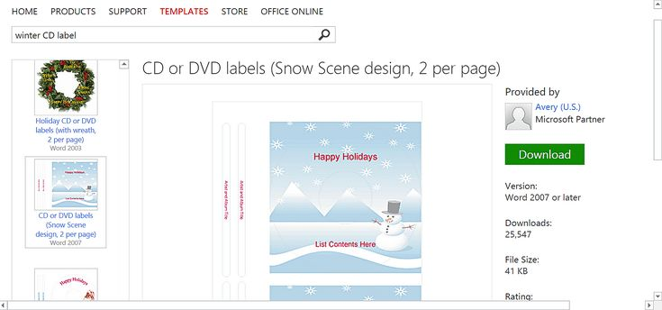 Free Winter Templates for Microsoft Office Microsoft office - free microsoft word postcard template