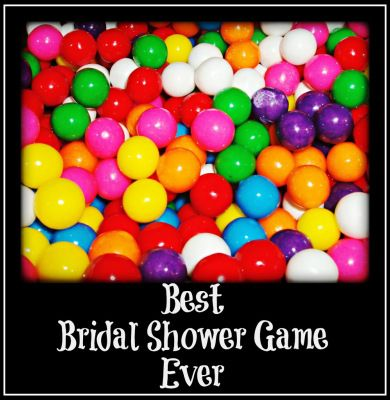 Adrienne, this is one game we could play. You can always ask other questions. Best Bridal Shower Game Ever – Bubble(gum): Broke Bride