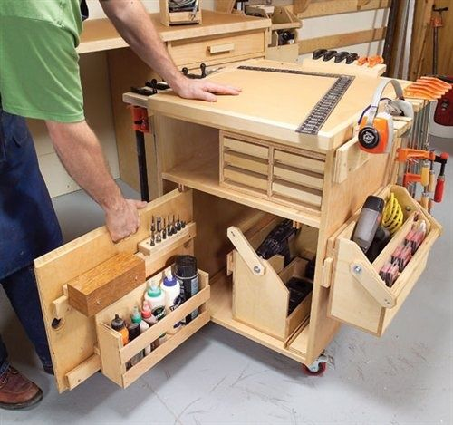 Diy Mobile Tool Cart