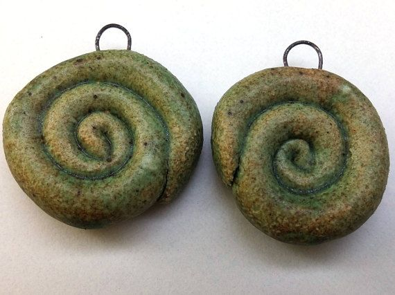Natural ceramic earring components  ceramic earrings supply
