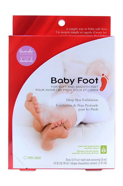 """This unassuming box contains absolute magic, if you didn't already know. One of these every two months make my feet look like they should be in a sandal commercial, rather than serve as a foot double for a hobbit.""Baby Foot Foot Peel Lavender, $25, available at Target. #refinery29 http://www.refinery29.com/2016/12/131489/what-to-buy-at-target-beauty-holiday-2016#slide-32"