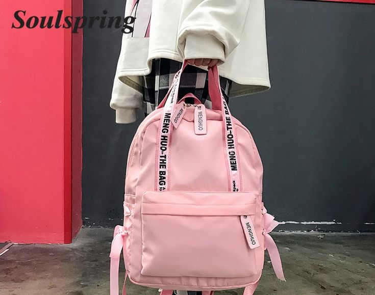 Best Price Fashion 2018 Backpack Women Preppy School Bags For Teenagers Backpack Female Nylon Travel Bags Girls Bowknot Backpack Mochilas #phone