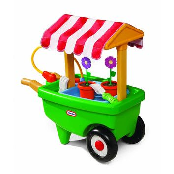 Little Tikes Little Tikes 2-in-1 Garden Cart and Wheelbarrow -love this