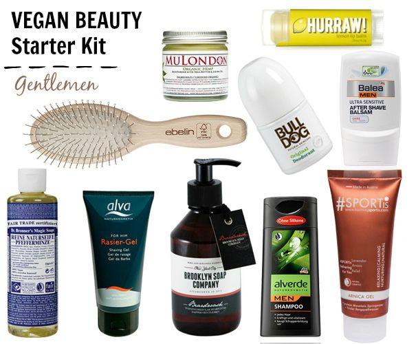 Vegan Beauty Starter Kit for GENTLEMEN *ONCE UPON A CREAM | Vegan Beauty Blog*