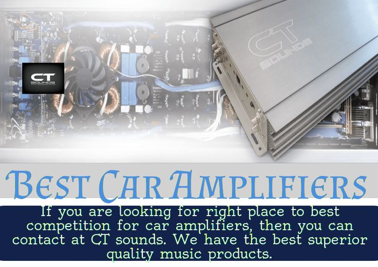 If you're looking for some of the best car amplifiers to power up your entire audio system, contact CT Sounds. We provide car audio accessories at the lowest price. Upgrade your ride with the ultimate car audio amplifiers system.