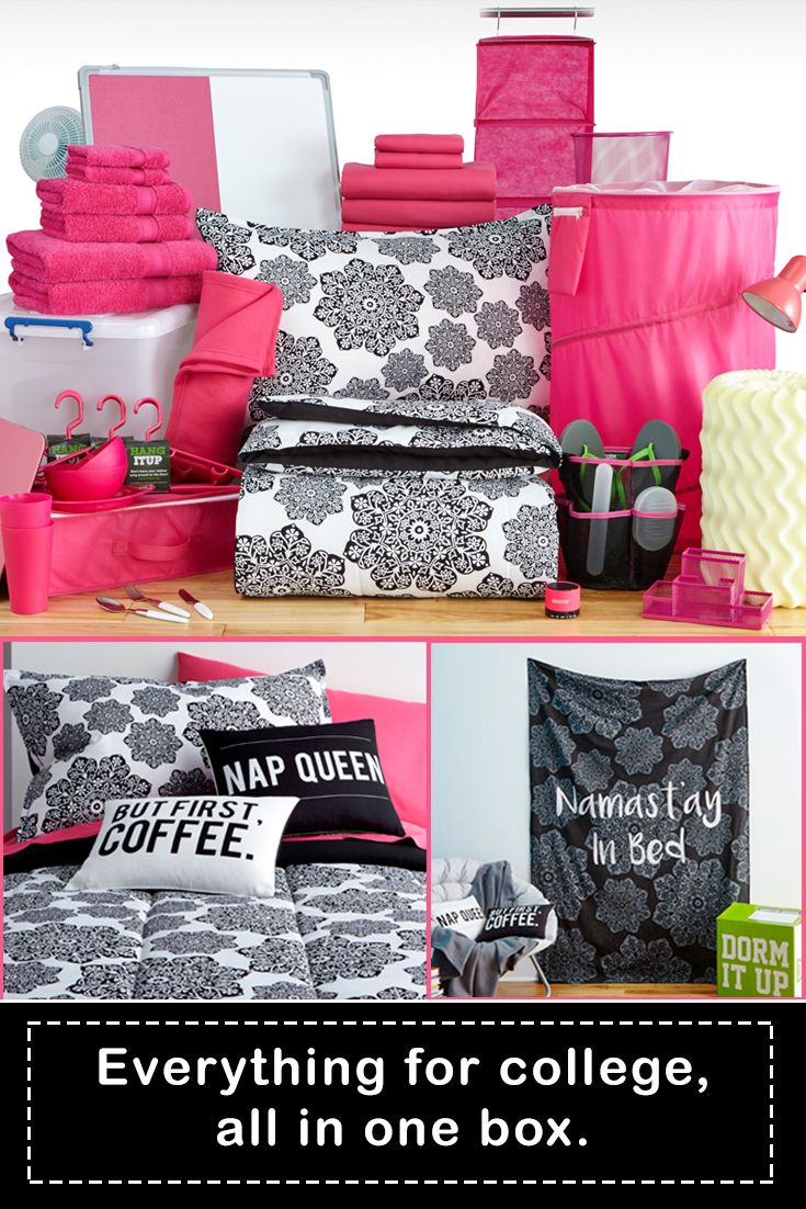 Get over 45 items for your dorm, all in one box! FREE SHIPPING to you door! Save up to 50% vs stores. www.dormitup.com