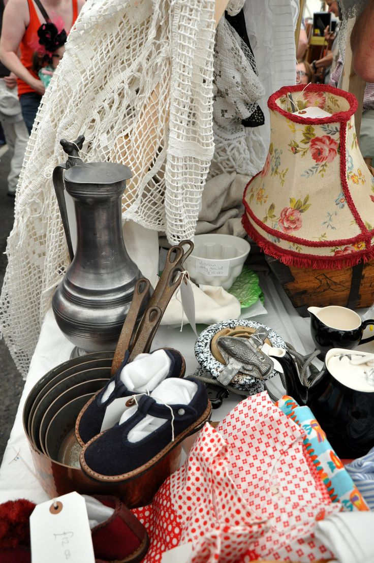 Lovely French finds at our fayre.