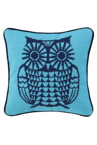 Bujo Pillow in Blue design by Trina Turk