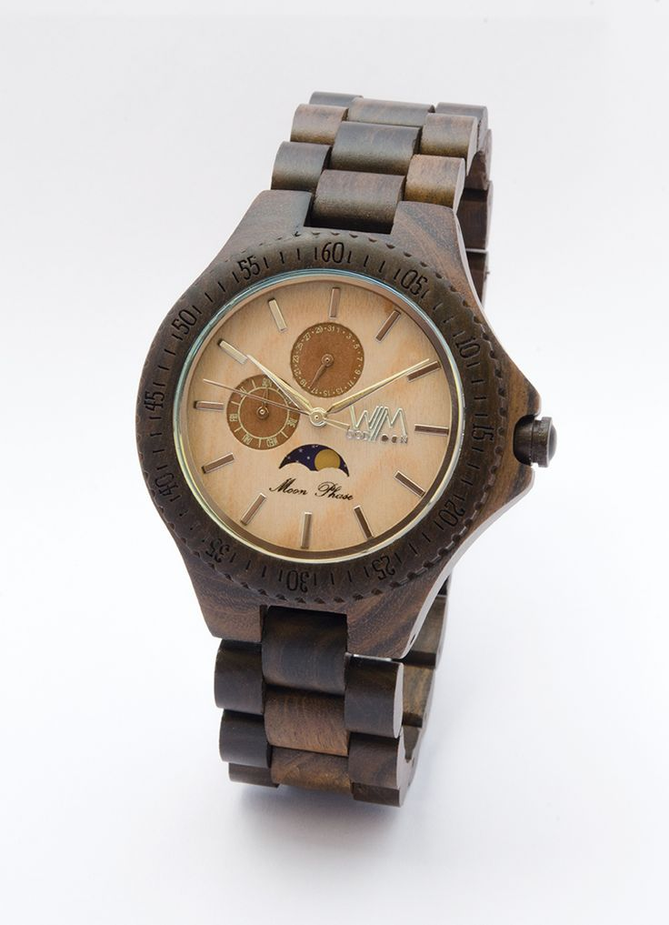 Eclisse orologio in legno - wood watch