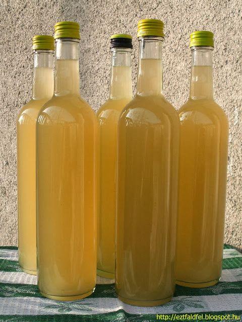 Vaníliás kivibor - házi bor