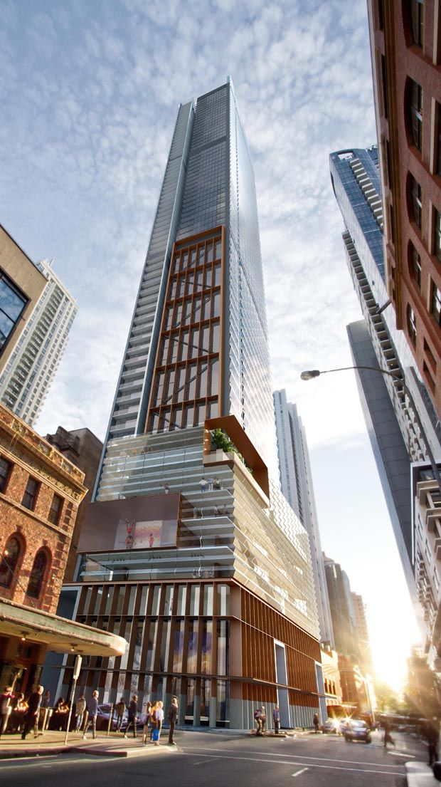 Sydney 39 S Tallest Residential Tower To House First Of A Kind Creative Hub Architecture And