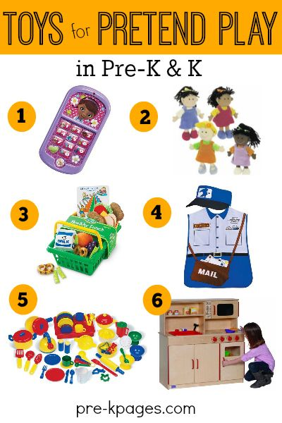 The Best Pretend Play Toys for Preschoolers! Creativity and Imagination Soar with Pretend Play. Make Pretend Play FUN with these Stimulating and Engaging Toys.