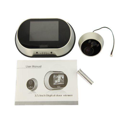 Wireless Visual Doorbell Smart Peephole Viewer Door Monitoring System  (ADK T108) | Good