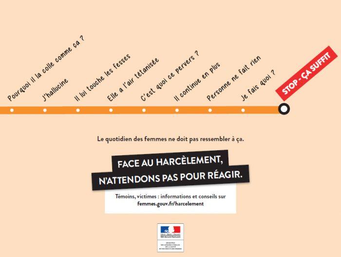 """""""ÇA SUFFIT"""" : La nouvelle campagne choc contre le harcèlement sexuel, qui est en train de faire du bruit..."""