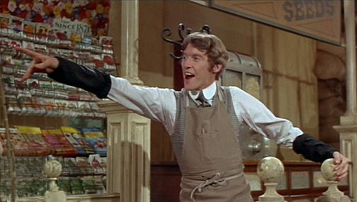 michael crawford   u0026quot out there  barnaby u0026quot  hello dolly