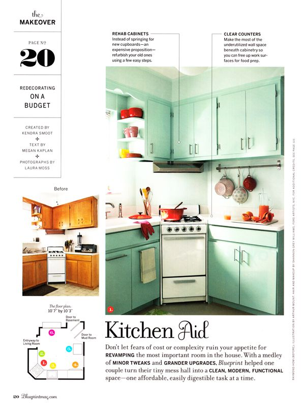 Blueprint by Martha Stewart Living Omnimedia @hellmell This would work in your kitchen