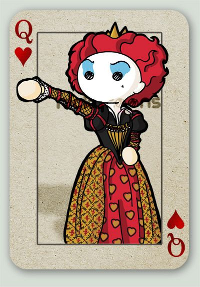 the Red Queen by NickyToons.deviantart.com on @deviantART