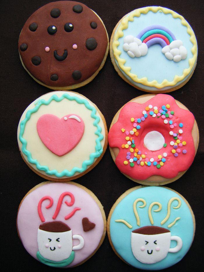 Cute Cookies... too beautiful to eat !?!