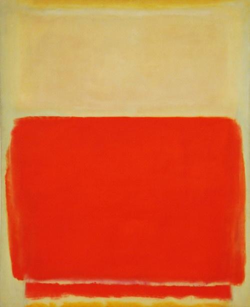 Mark Rothko, Number 3, 1953. MET NYC